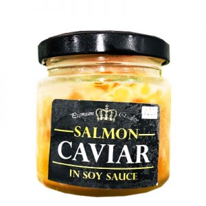 冷冻三文鱼鱼子酱汁/Salmon Caviar In Soy Sauce 100g