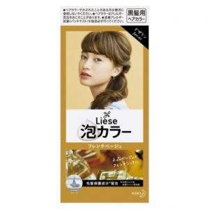 日本KAO花王 LIESE PRETTIA 泡沫染发剂 #法国糖果米色 单组入/KAO LIESE PRETTIA Bubble Hair Dye #French Beige