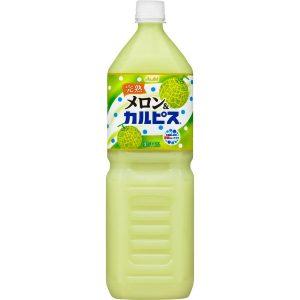 日本Asahi完熟哈密瓜饮料1.5L/Asahi Rockmelon Drink 1.5L