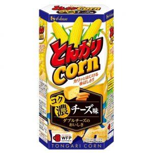 日本House芝士火腿风味妙脆角70g/House Corn Snack Rice Cheese Flavor 70g