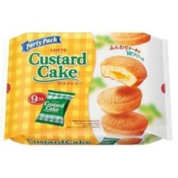 日本Lotte乐天经典蛋黄派247.5g/Lotte Custard Cake 247.5g