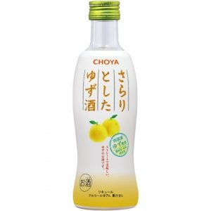CHOYA/柚子果汁酒 300ML 7%/CHOYA/YUZU WINE 300ML 7%
