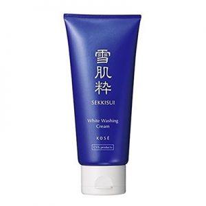 日本Kose高丝雪肌粹洗颜洗面乳80g/Kose Sekkisui White Washing Cream 80g