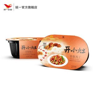 统一开小灶宫保鸡丁自热饭251g/KXZ GongPao Chicken Self Steam Rice 251g