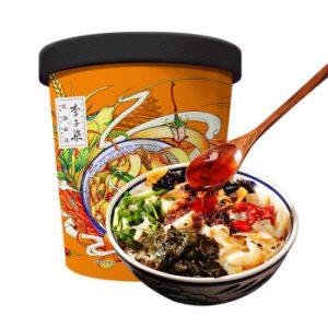 李子柒网红产品红油面皮135g/LZQ Wide Rice Noodle 135g