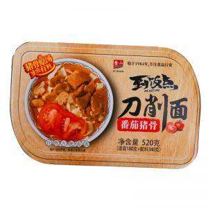 紫山到饭点刀削面番茄猪骨520g/ZS Wide Noodle Potato Pork Bone Flavor 520g