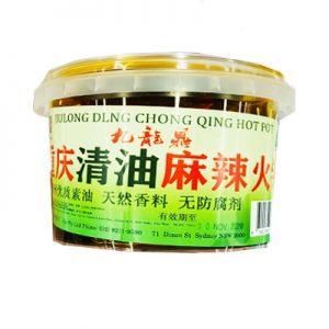 九龍鼎重庆清油麻辣火锅底料400g/JLD ChongQin Tea Seed Oil Hotpot Soup Base 400g