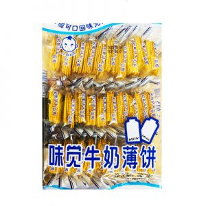 味觉牛奶薄饼300g/WJ Milk Thin Biscuits 300g