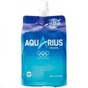 日本Aquarius奥林匹克功能果冻饮料300ml/Aquarius Carbonate Drink 300ml