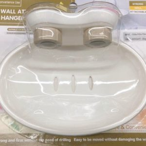Soap Holder With Suction 1P 158*110*70MM