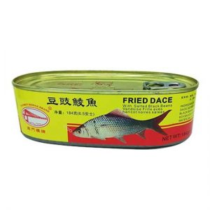 南门桥豆豉鲮鱼罐头184g/NMQ/ Fried Dace With Salted Black Beans 184g