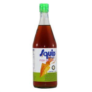 鱿鱼牌香甜鱼露725ml/Squid Brand Fish Sauce 725ml