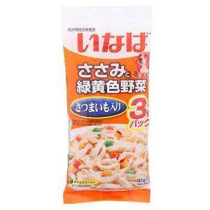 日本CIAO伊纳宝狗狗湿粮烤鸡胸肉甜番薯&蔬菜味3包入 180g/Ciao Dog Food With Sweet Potato & Vegetable 3pk 180g
