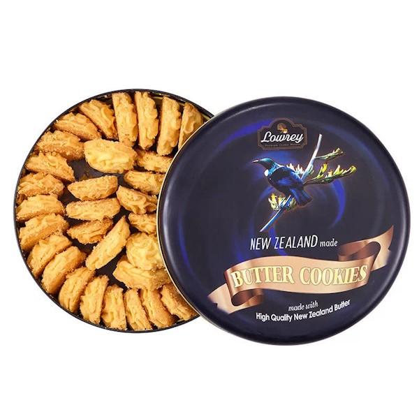 网红推荐新西兰Lowrey超好吃匠心手工黄油曲奇饼干430g(原味)/Lowrey Plain Butter Cookies 430g(Original)