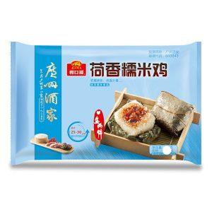 利口福/荷香素糯米鸡270G/LKF/VEGETARIAN GLUTINOUS CAKE 270G