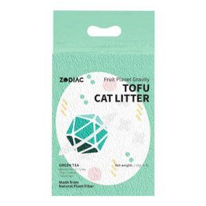 ZODIAC/绿茶味豆腐猫砂7L/ZODIAC/GREEN TEA FRUITY TOFU CAT LITTER-7L