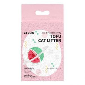 ZODIAC/西瓜味豆腐猫砂7L/ZODIAC/WATERMELON FRUITY TOFU CAT LITTER-7L