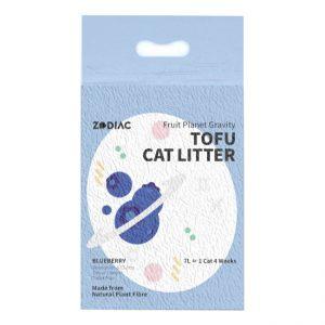 ZODIAC/蓝莓味豆腐猫砂7L/ZODIAC/BLUEBERRY  FRUITY TOFU CAT LITTER-7L