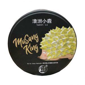 小鹿甜品/纯正猫山王榴莲冰皮月饼 4P/SL/DURIAN SNOWY MOONCAKE 4P
