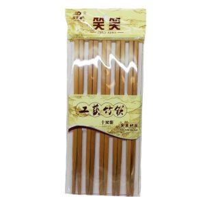 笑笑工艺竹筷10双//BAMBOO CHOPSTICKS 10P