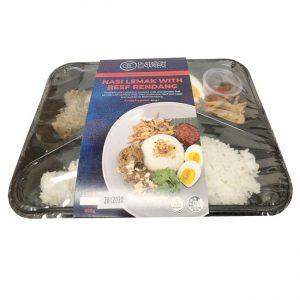 GC/系列风味微波即食饭牛肉饭/GC/SERIES FLA MICROWAVE RICE/BEEF RENDANG RICE 400G