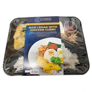 GC/系列风味微波即食饭咖喱鸡饭/GC/SERIES FLA MICROWAVE RICE/CHICKEN CURRY RICE 400G