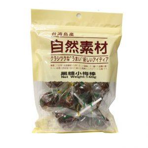 自然素材/黑糖小梅塘 140G/ZRSC BROWN SUGAR XIAOMEI STICK 140G