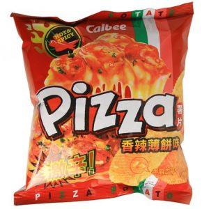 卡乐B/香辣薄片薯片 50G/ECL HOT&SPICY PIZZA 50G