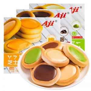 AJI/芝士巧克力味软心挞 118G/AJI/CHEESE CHOCO TART 118G