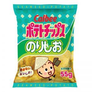 卡乐B/紫菜薯片55G/CLB POTATO SHIP - SEAWEED 60G