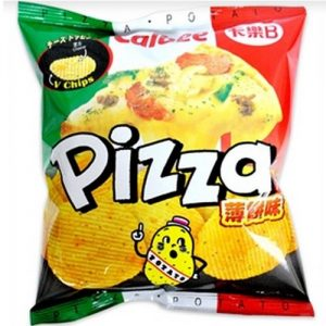 卡乐B/薄饼薯片 50G/CLB POTATO CHIP-PIZZA (S) 50G