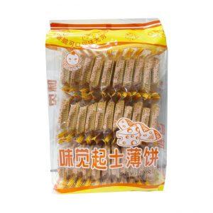 味觉小子/起士薄饼 300G/WJXZ/CHEESE BISCUIT 300G