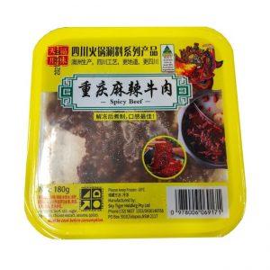 天福川味重庆麻辣牛肉 180G/TF SPICY BEEF 180G