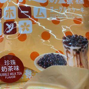 北海道 奶盖蛋糕珍珠奶茶味 600G/PEARL MILK COVER CAKE 600G