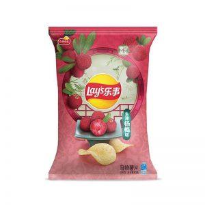 乐事 生津杨梅味 60G/LAY'S BAYBERRY CHIPS 60G