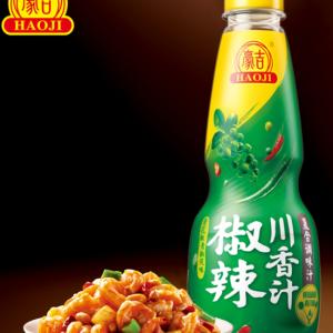 豪吉 椒辣川香汁 500ML/GREEN CHILLI&PEPPER SAUCE 500ML